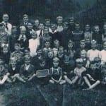 Altes Schulfoto Herr Böhnig 1948a